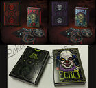 EERIE BICYCLE PLAYING CARDS RED PURPLE BLACK HORROR ULTRA RARE COLLECTABLE UK