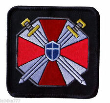 Resident Evil Umbrella Corporation Swords Shield patch -Costume Cosplay Patch