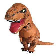 Dinosaur T-REX Inflatable Costume Jurassic Park World Blowup Cosplay Adult Suit
