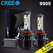 Cree LED Headlight Conversion Kit 9005 HB3 H10 9140 9145 60W 7200LM White 6000K