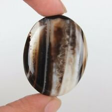 FANTASTIC 42.75CT  100% NATURAL AGATE FOR SALE OVAL CABOCHON LOOSE GEMSTONE