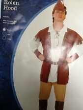 ROBIN HOOD COSTUME FANCY DRESS HALLOWEEN REDUCED TO CLEAR 1 ONLY MEDIUM