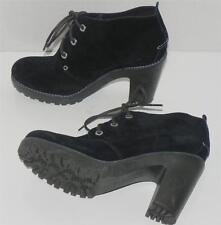 Sperry Top Sider Princeton Black Suede Ankle Boots size 9.5 New without box