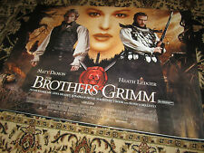 The Brothers Grimm - 2005 - Original (Double Sided) UK Quad Poster