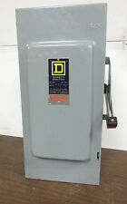 Square D Fusible Safety Switch 100A, 240V Cat# H323N Series E1 Nema 1 ..  DS-701