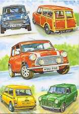 Country Cards Austin Morris Mini Cooper Countryman Rally Happy Birthday card