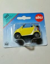 Siku 1:50 diecast rubber tires Smart Car cabriolet covertible MINT NEW Germany