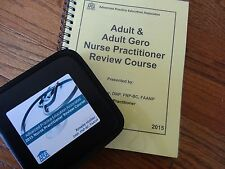 2015 Amelie Hollier APEA ADULT Nurse Practitioner review BOOK & 15 CDs