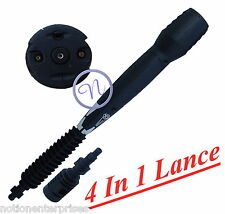 4 In 1 Variation Pressure Washer Lance For Aldi (With Bosch /Aldi Adaptor)