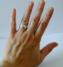925 STERLING SILVER BAND RING size x1 / 2 (Everyday WEAR)