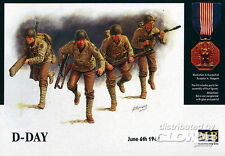 MB Masterbox D-Day June 6th 1944 US Soldaten bei Angriff Modell-Bausatz 1:35 NEU