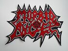 MORBID ANGEL LOGO DEATH METAL EMBROIDERED BACK PATCH