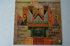 The World oldest keyboard music on the world oldest playable organ G Bovet(LP18)