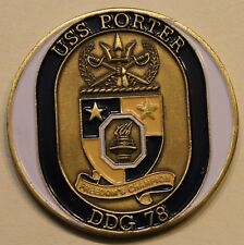 USS Porter (DDG-78) Operation Iraqi Freedom Navy Challenge Coin