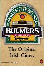 BULMERS CIDER RETRO METAL TIN SIGNS vintage cafe pub bar garage