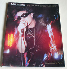 """U2 Live"" A Concert Documentary Book"