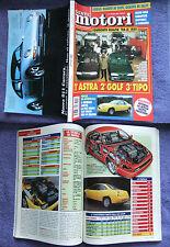 GENTE MOTORI 1993,qualità 1400,isotta fraschini,fiat coupé,salone tokyo,xantia#f