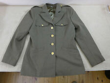 Us army ww2 wac Femmes uniforme women Class A service Jacket taille 38 (d)