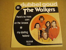 45T SINGLE TELSTAR DUBBEL GOUD/ THE WALKERS - THERE'S NO MORE CORN ON THE BRASOS