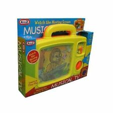 NEW A-Z Musical TV (Assorted Colours) For Kids Childrens Gift Set