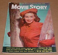 12/1948 Movie Story Magazine    Jeanne Crain    William Holden    Myrna Loy