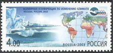 Russia 2003 Climate Change/Icebergs/Polar/Map/Environment 1v (n28494)