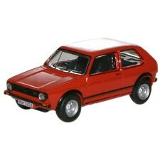 1:76 Red Oxford Diecast Mars Golf Gti - Model Vw Volkswagen Car Collectable Gift
