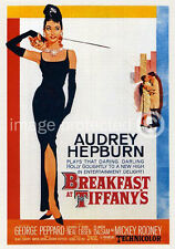 Breakfast at Tiffanys Audrey Hepburn Movie 11x17 Poster