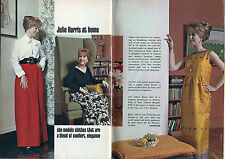 1962 Tv Article/Julie Harris/Fashions/Joan Morse/Lanz/Thomas Murphy/Stella Sloat