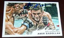 Amir Sadollah Signed 2011 UFC Topps Moment of Truth Card #18 Autograph TUF 7 106