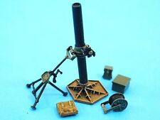 "1/35th Accurate Armour British 4.2""  Mortar & Ammunition"
