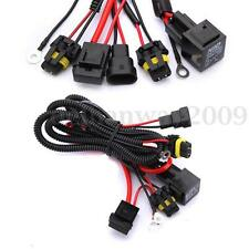 Xenon HID Conversion Kit Relay Wiring Harness H1 H7 H8 H9 H11 9005 9006 5202
