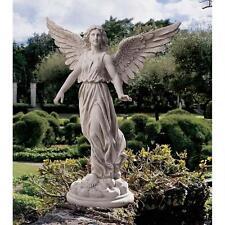 """38"""" Dramatic Angel of Peace Spiritual Home Garden Art Sculpture Statue"""