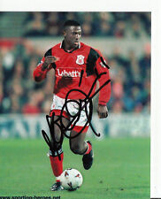 Kevin Campell Notthingham Forest TOP FOTO Original Signiert +A40754