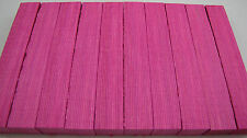 "10 Pink Laminated Pen Blanks 3/4""x 3/4""x5"" Free Shipping P-10"
