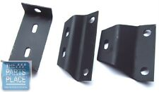 1966-67 Chevelle Manual Transmission Console Mounting Bracket Set - 3 Pieces