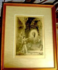 """""""THE APPARITION"""" ENGRAVING AFTER GUSTAVE MOREAU"""