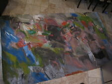 Vintage Lee Chesney Original Painting, Contemporary, 67.5 x 114 inches