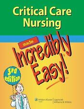 Incredibly Easy! Series#174: Critical Care Nursing by Springhouse Publishing Com