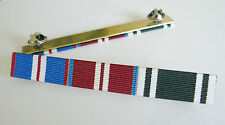 GOLDEN JUBILEE + DIAMOND JUBILEE + AMBULANCE LONG SERVICE MEDAL RIBBON BAR