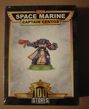 Warhammer 40K Space Marine Captain Centos 100th US Store Exclusive NEW SEALED
