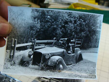 vintage P Duncan Photos lot: people  LOT J cool play area w OLD CAR