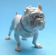 Art Deco Bing & Gröndahl Porzellanfigur Hund Bulldogge Boston Terrier  ~1920
