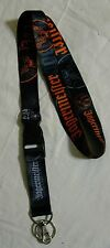 Jagermeister Lanyard w/ Detachable Clip & Keychain Ring Jager ID Badge Holder