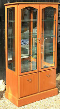 Good Quality Morris Furniture Display Cabinet / Glazed Bookcase