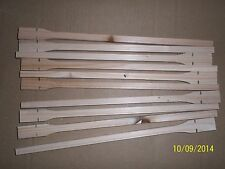 "10 X WOODEN 12"" TWIST ON PERCHES FOR CAGE & AVIARY BIRDS"