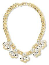 Banana Republic Chain Reaction Petal Glamour Necklace P $129.50 Sold out