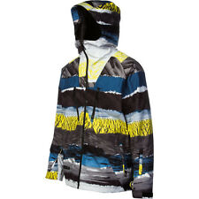 QUIKSILVER Men's TRAVIS RICE SYMBOL Gore-Tex Jacket - MUL - S - NWT