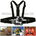 Adjustable Chest Harness Strap For GoPro Go Pro Camera Mount Hero 1 2 3 3+