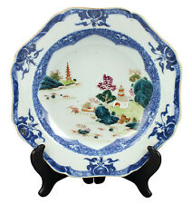 Fine 18thC Antique Chinese Famille Rose Porcelain Plate